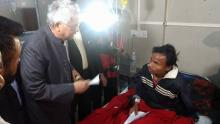 Congress leader Tarun Gogoi visits JMCH