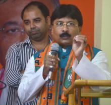 Former AGP Minister Jagadish Bhuyan jojns BJP