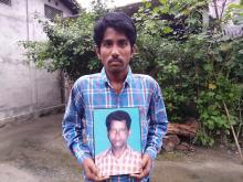 Ratan Dey, son of late Narayan Dey who died serial blast in Kokrajhar